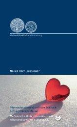 Neues Herz was nun - PDF - Herztransplantation SüdWest eV