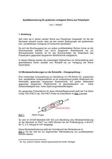 1. Einleitung - HESSEL Ingenieurtechnik GmbH, Roetgen