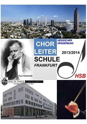 Info-Flyer zum Download - Hessischer Sängerbund