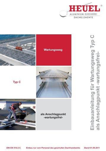 Einbauanleitung Laufsteg Typ C mit Seilsicherung - Heuel & Söhne ...