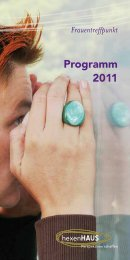 Programm 2011 - Hexenhaus
