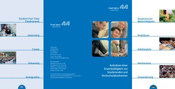 Jobs & Work as a Foreign Student.pdf - Hochschule Aalen