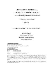 DOCUMENTS DE TREBALL - Dipòsit Digital de la UB - Universitat ...