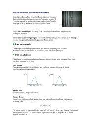 Recordatori de moviment ondulatori - La baldufa