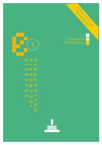Educació emocional: Propostes per a la tutoria - Conselleria d ...