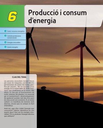 Producció i consum d'energia - McGraw-Hill