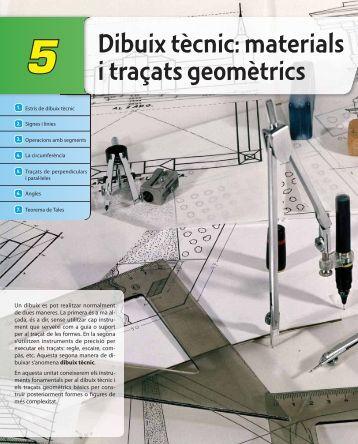 Dibuix tècnic: materials i traçats geomètrics - McGraw-Hill