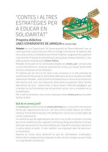 contes i altres estratègies per a educar en solidaritat - Fira del Llibre ...
