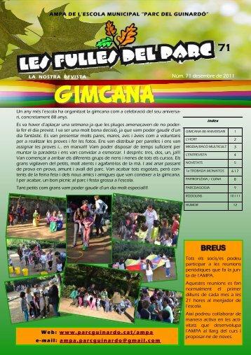 desembre de 2011 - Parc del Guinardó