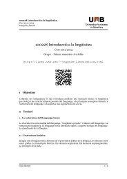 Introducció a la lingüística (2012-2013) - Guia docent - Universitat ...