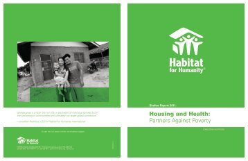 Partners Against Poverty Housing and Health: - Habitat for Humanity ...