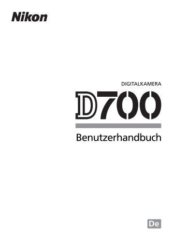 Nikon D-700 Manual