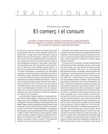 """** 12. El comer"""" i el consum - Observatori del Comerç de Barcelona"""