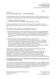 Karneval der Kulturen 2005 - Versicherungsfragen - Heinemann ...