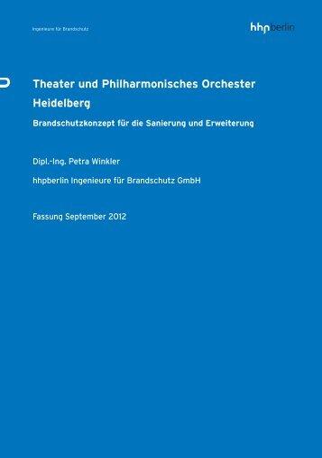 Theater und Philharmonisches Orchester Heidelberg - hhpBerlin