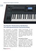 Synthesizer Guide 2011 - Musikhaus Hieber Lindberg - Seite 6