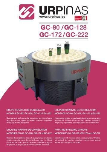 GC-80 GC-128 GC-172 GC-222.indd - Viniquip