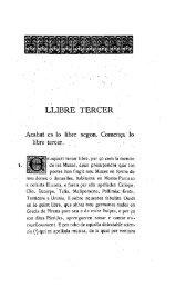 LLIBRE TERCER - Reial Acadèmia de Bones Lletres