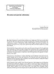 Els noms en la poesia valenciana - Societat d'Onomàstica
