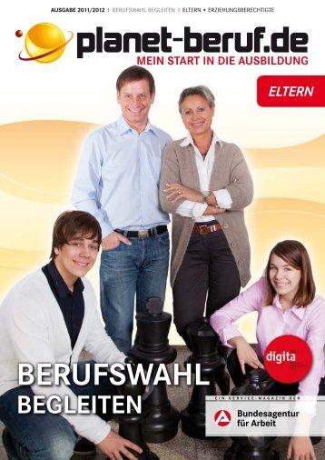 Berufswahl BegleIten - Planet Beruf.de