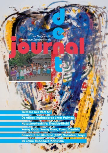 DentJournal - Stiftung Hilfswerk Deutscher Zahnärzte
