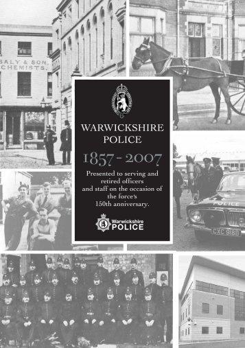 1857 - 2007 - Warwickshire Police