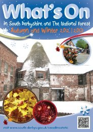 Winter 2012.indd - South Derbyshire District Council