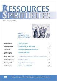 Thème : L'ADORATION ET LA LOUANGE - Assemblies of God (USA)