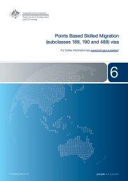 1119 - Points Based Skilled Migration - Department of Immigration ...
