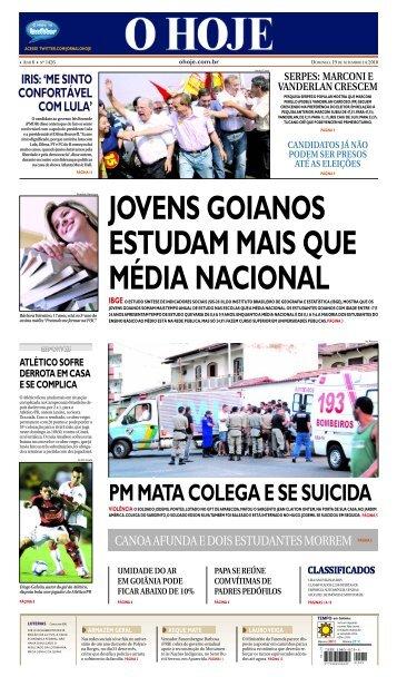 jovens goianos estudam mais que média nacional - Jornal O Hoje