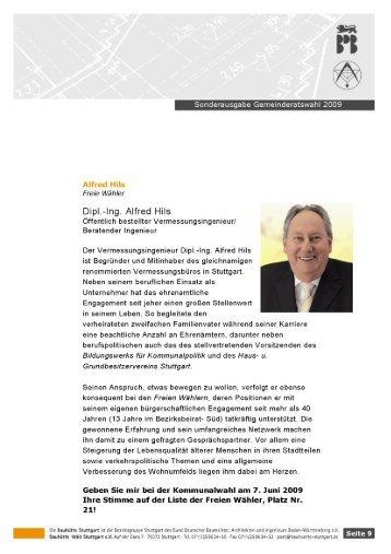 Dipl-Ing. Alfred Hils - Vermessung Hils
