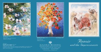 Renoir and the Impressionists - Galerie Michael