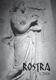 Rostra 1/2006 - Helsinki.fi