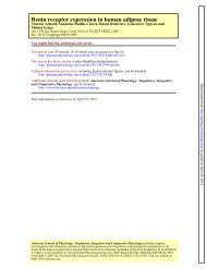 Renin receptor expression in human adipose tissue - American ...