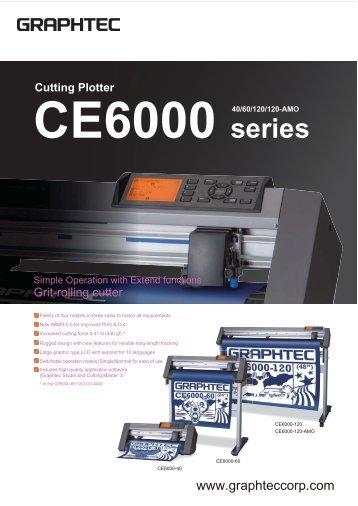 CE6000 series Cutting Plotter
