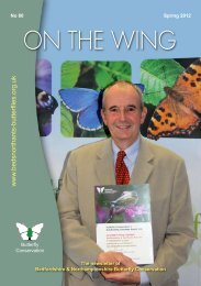 Spring 2012 newsletter - Butterfly Conservation