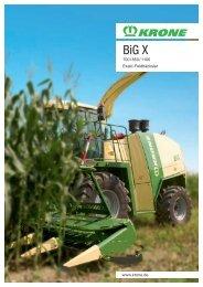 BiG X 1100 - AGRAVIS Technik Elbe-Weser GmbH