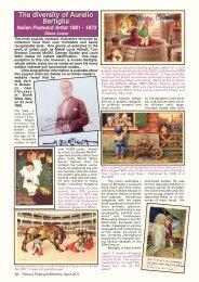 Humorous Postcard Ephemera 937- Four Queens on a Jack Antique Postcard
