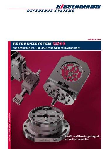 Katalog Spannsystem 5000 - Hirschmann GmbH