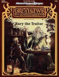 Rary the Traitor - Free