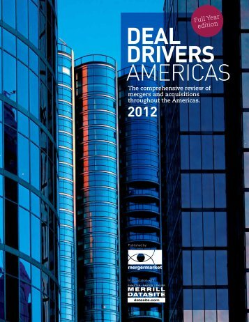 DEAL DRIVERS AMERICAS - The Mergermarket Group