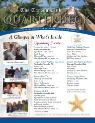 A Glimpse at What's Inside Upcoming Events.... - Fiddler's Creek
