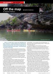 Off the Map - New Zealand Kayak Magazine