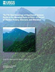 40Ar/39Ar Geochronology of Hypabyssal Igneous Rocks in ... - USGS