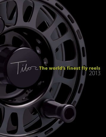 catalog - Tibor Reel Corporation