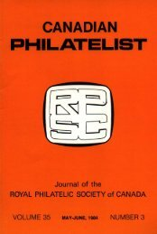 CANADIAN PHILATELIST - The Royal Philatelic Society of Canada