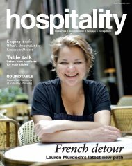download Hospitality November 2010 - Foodservice Gateway
