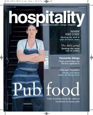to download the April issue of - Foodservice Gateway