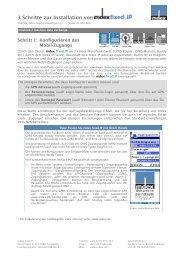 3 Schritte zur Installation von - Mdex