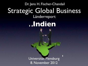 Indien - Universität Flensburg - Internationales Institut für Management